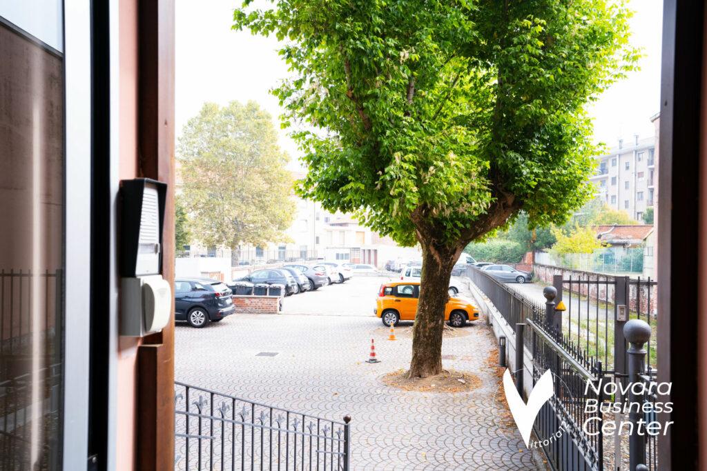 Free parking Novara